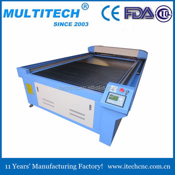 co2 laser cutting machine for MDF and plywood 1325