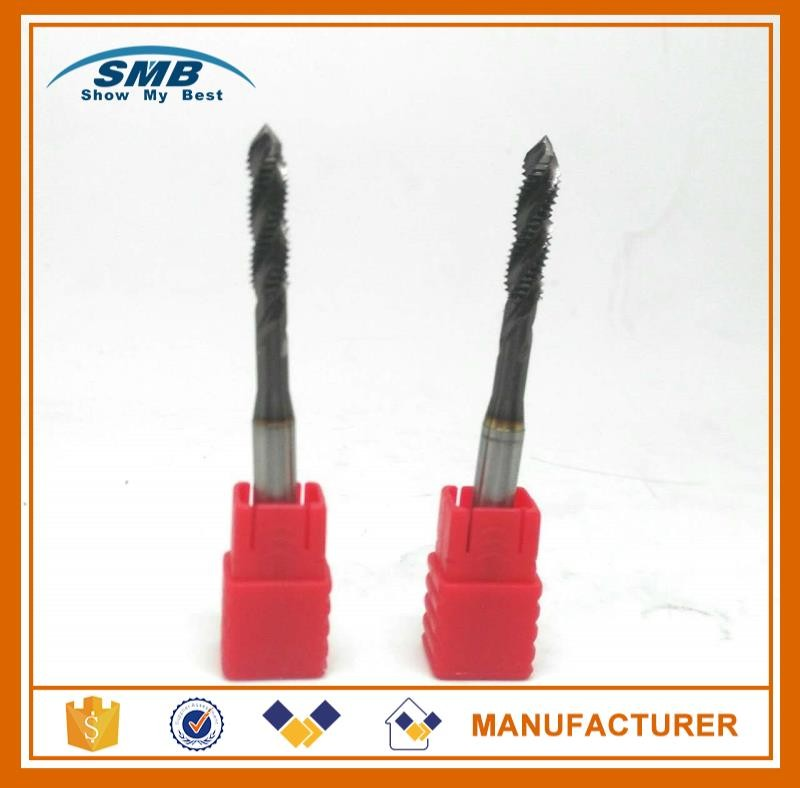 carbide spiral fluted taps tap manufacture