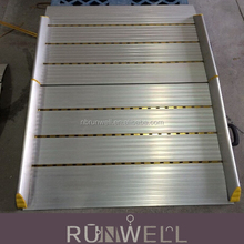 Customized design aluminium folding wheelchair ramp