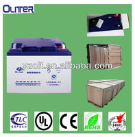 12v 38ah valve regulated lead acid battery with ROHS certification