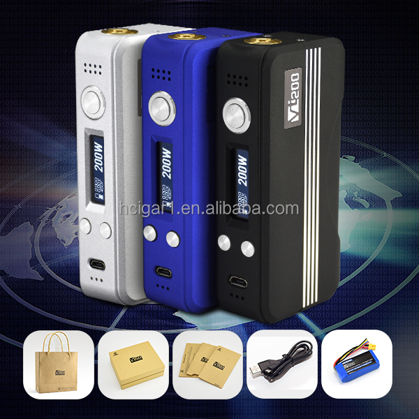 hcigar vt200 box mod tempeture control dna 200 one year warranty