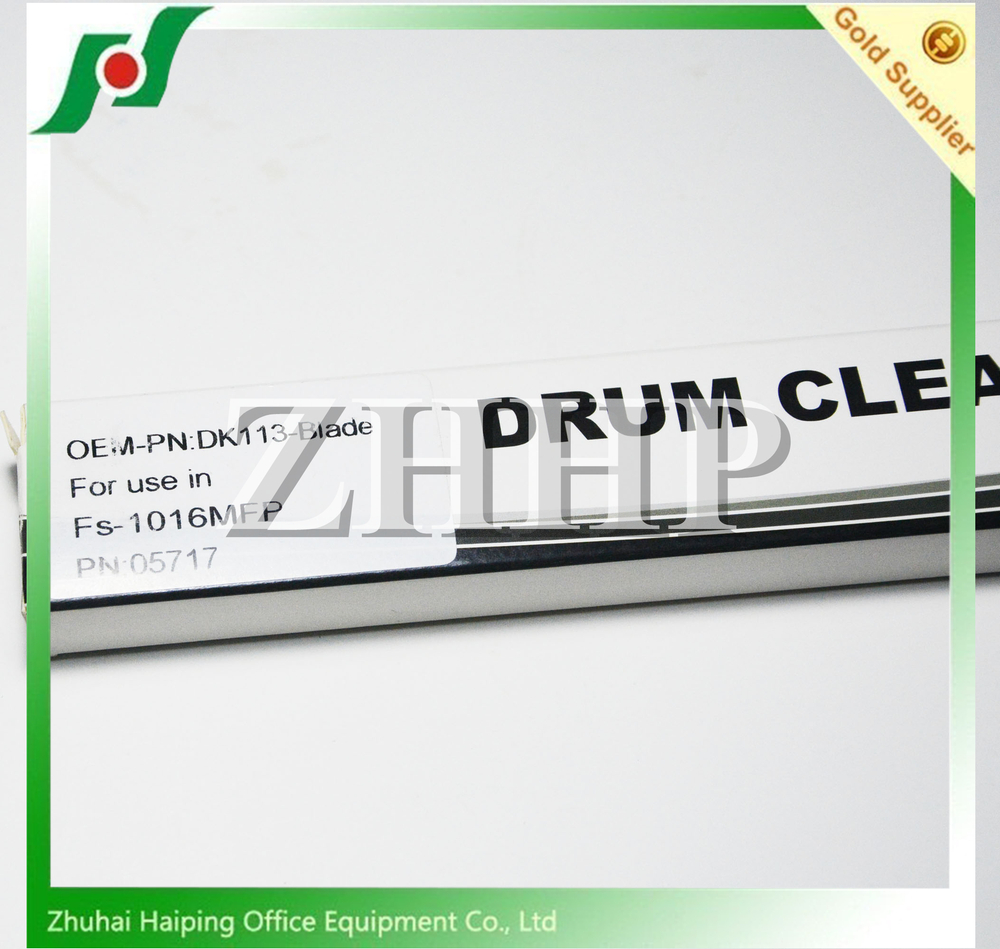 DK113-Blade spare parts for Kyocera FS-1016MFP drum cleaning blade