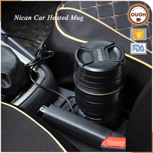 Steel+ABS+Silicone Coffee Camera Car Heating Travel Lens Mug <strong>Cup</strong>
