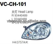 Head Lamp For Chevrolet Chevy C2