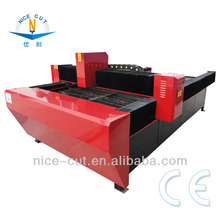 NC-1325 Hot sale ND YAG Steel plate / Aluminum / Iron / Copper / Stainless Steel Metal sheet laser metal cutting machine price