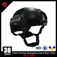 competitive price high quality black color 1.5kg NIJI IIIA .44 MICH german army helmet military motorcycle helmet