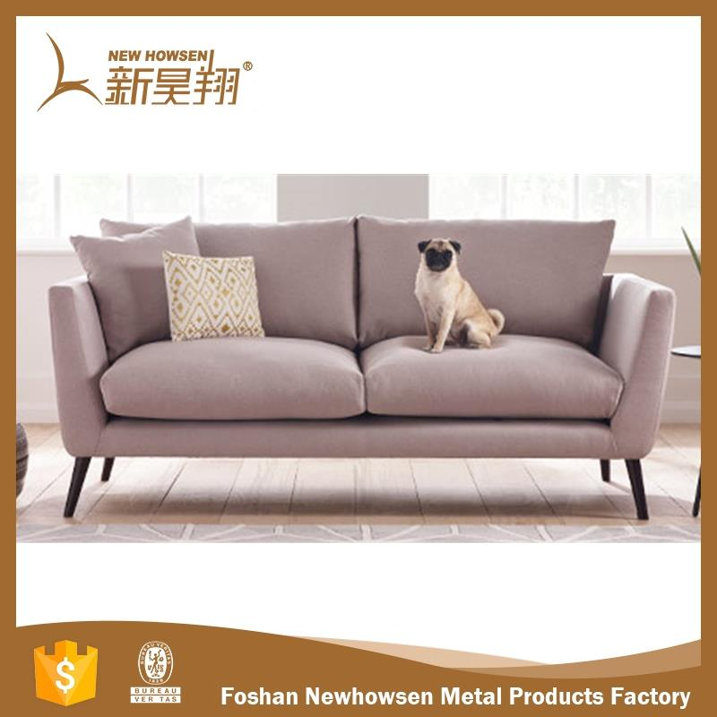 UK market modern orange sofa with high quality