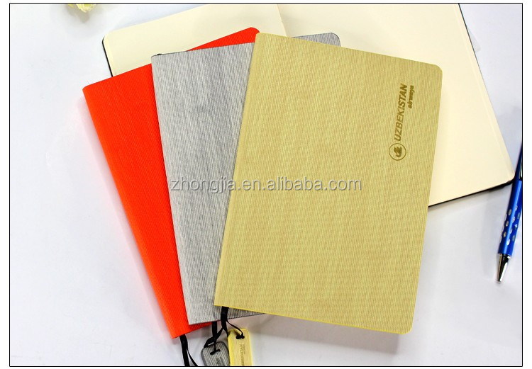 Newest design customized notebook pu cover