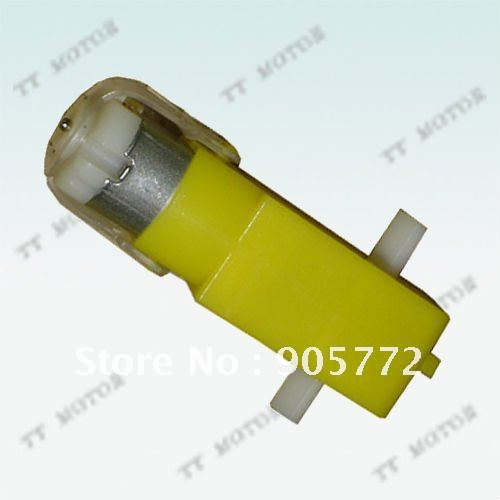 plastic toy wheel 3v 6v gear motor