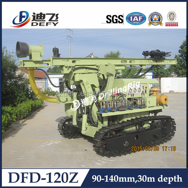 Mining rock digging equipment with dust collect system