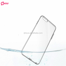 Manufacture high quality mobile phone clear cover transparent tpu 0.3mm case for lg