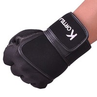 Long wrist gym gloves protective wrist gym gloves breathable gym gloves