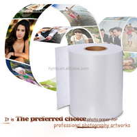 Best selling Top quality Wholesale 265gsm RC microporous Metallic glossy inkjet photo paper roll