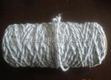 0.5s/4 ply regenerated cotton polyester blended oe mop yarn