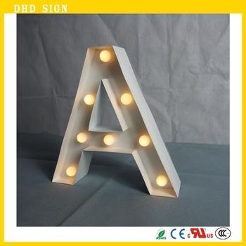 Mini letter lights