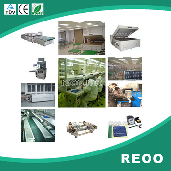 REOO 1MW good quality semi automatic solar panel production lines