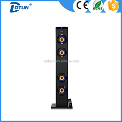 karaoke system loudspeaker with subwoofer and mobile docking