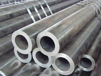 Black Welded Round Steel Pipe for Furniture pipe mild steel pipes