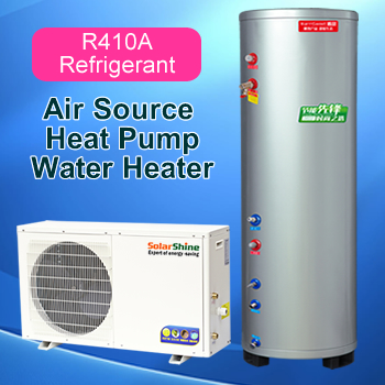 Air Source Heat Pump Water Heater high quality air source to water heat pump water heater system at