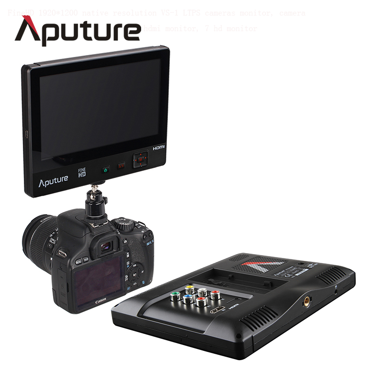 Aputure 7 inch portable hdmi monitor for camera/video monitoring