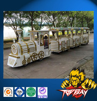 Mini electric Trackless Train For Sale