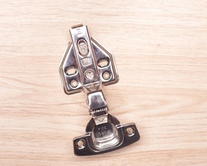 Metal iron hinge with clip on, soft slow closing for cabinet door hinge