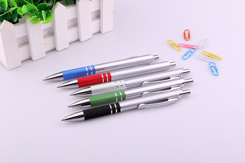Wedding gifts souvenirs aluminium ball pen with printing lovely logo for promotion