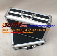 Heavy duty gun tool instrument carrying cases, bags, luggage aluminium boxes