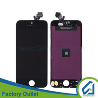 High quality for iphone screen 5,refurbished for iphone 5,original lcd backlight for iphone 5