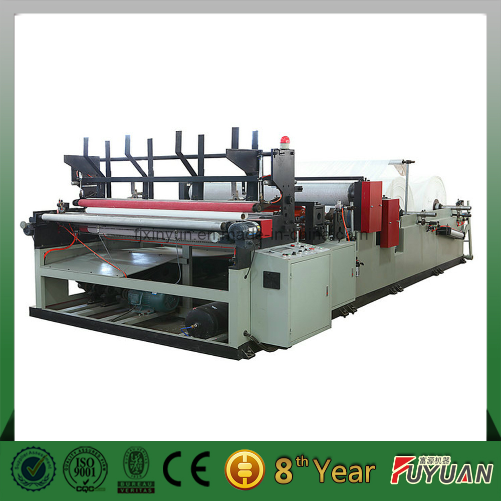 toilet paper rewinding machine/toilet paper rewinder for toilet toll making