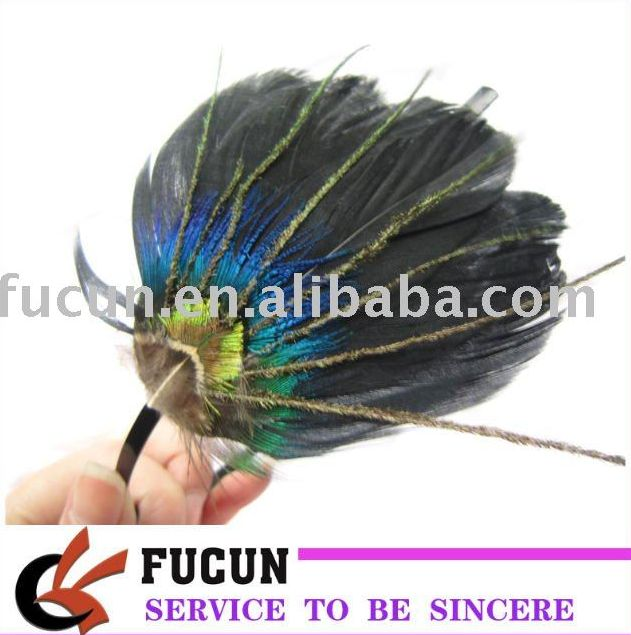 bulk wedding headbands/feather hair accessories for women