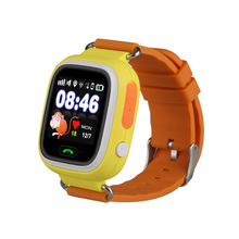Full Round Screen Smart kids gsm gps tracker watch Watch Mobile Phone