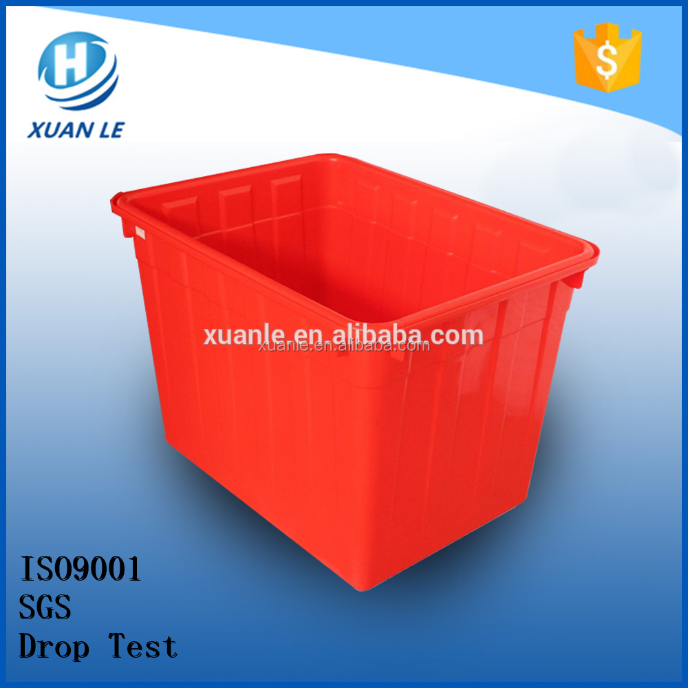 Custom size plastic tank rectangular with cheapest price