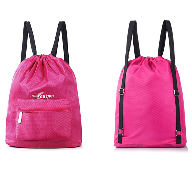 New Promotional Gift Waterproof Drawstring Backpack With Logo