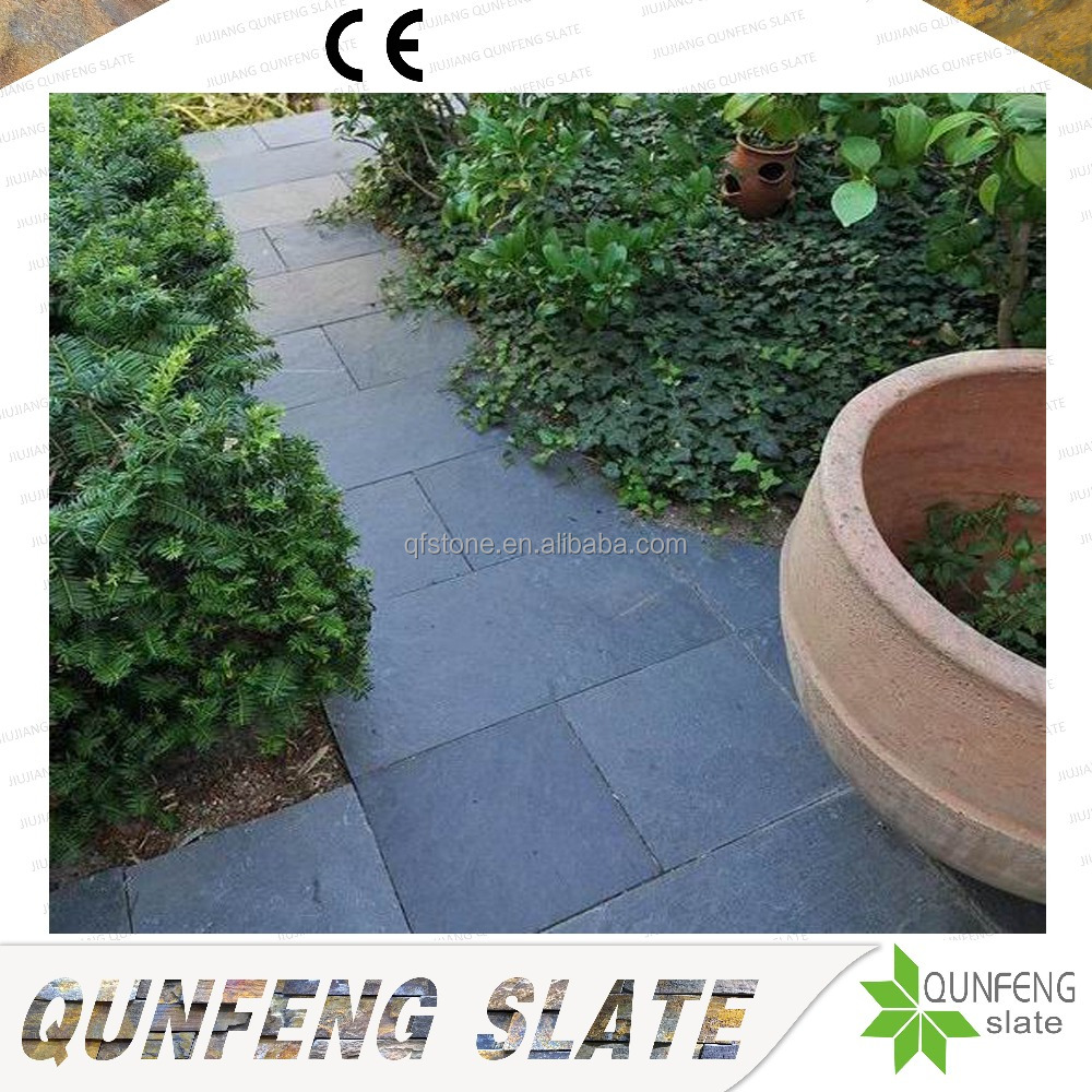Cheap Price Natural Black Stone Slate Paving Slabs
