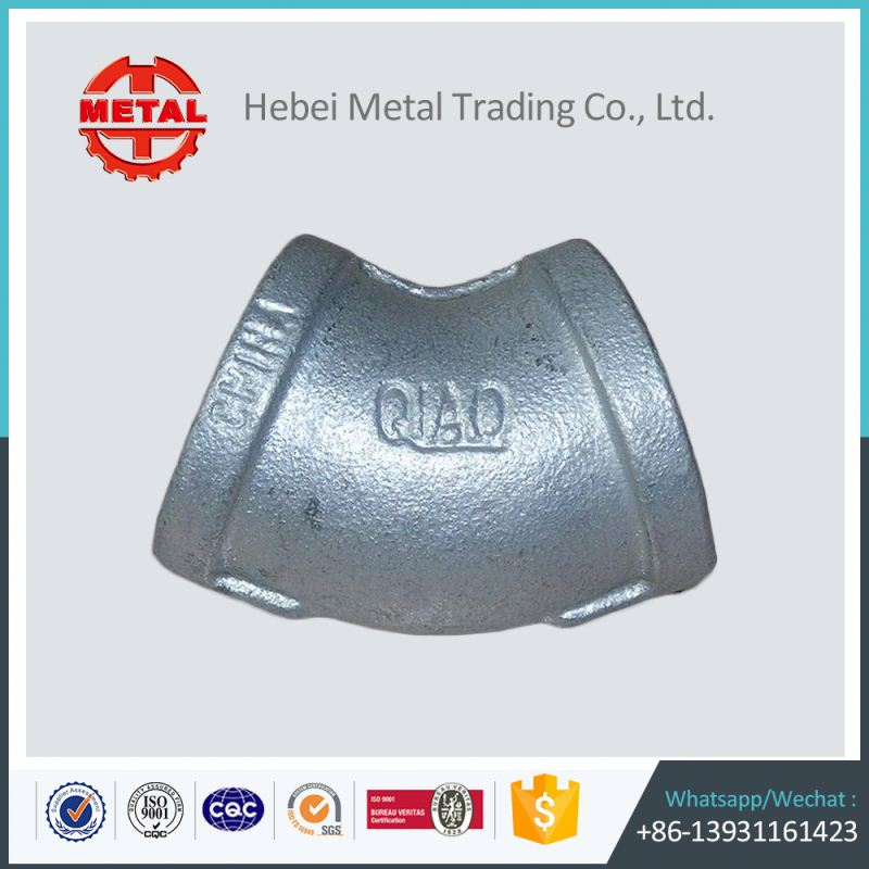 weight oem malleable iron pipe fitting dimensions