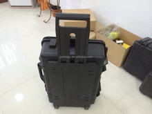 Silver ABS Plastic storage travel flight cases plastic large tool box_660003996