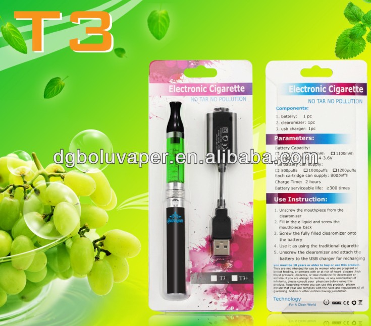 Hot selling 1200 puffs ego t3 electronic cigarette walmart