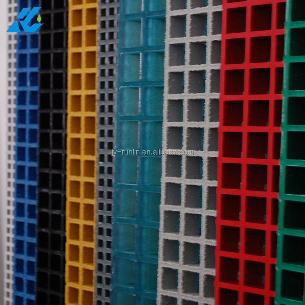 colored molded frp grating