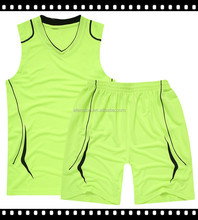 2016 Top Quality Athletic Basketball Jersey Wear Suit for yong man