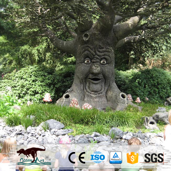 OA18128 Amusement Park Decoration cute Talking Tree