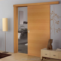 Melamine finished Wooden cheap sliding door design