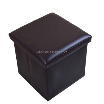 2017 Solid Color 38*38*38CM Cubes Tufted Storage Ottoman