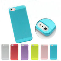 slim clear back case bumper fusion cover mobile phone case for iphone 5 cover