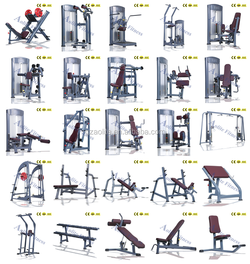 Pictures Of Names Gym Equipment