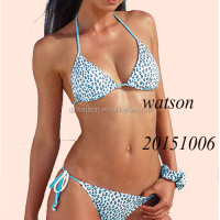 New Fashion triangle bikini with lepoard printing