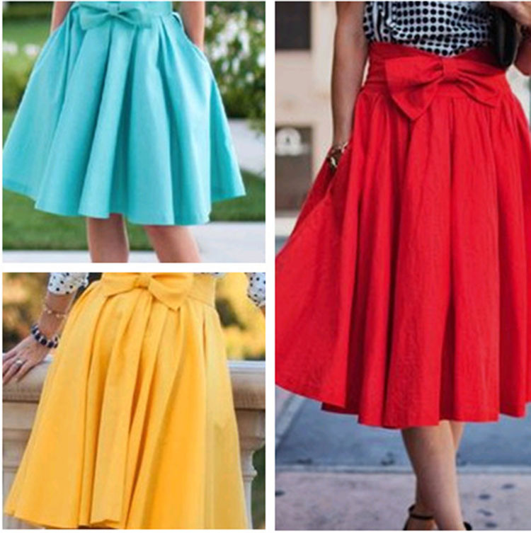 F10199A Aliexpress new style ladies colorful cute short skirt