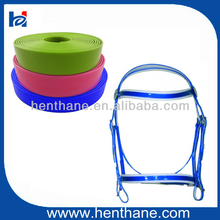 Best Selling TPU/PVC coated webbing for fancy horse bridles