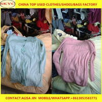 China clothing used clothes mixed sweater wholesale for Dubai buyers