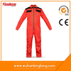Orange Cotton High Vis reflective safety fire retardant coverall